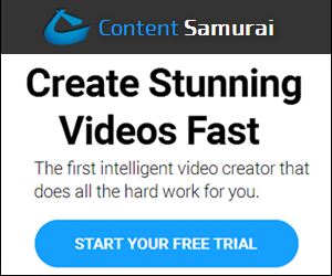 content samurai video creator