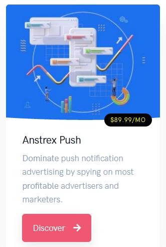 anstrex push notification